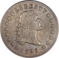 Early Dollars, 1795 $1 Flowing Hair, Two Leaves XF40 PCGS. B-1, BB-21, R.2....