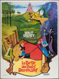"Movie Posters:Animation, Sleeping Beauty (Buena Vista, R-1975). French Grande (47"" X 63""). Animation.. ..."