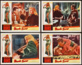 "Movie Posters:Bad Girl, Blonde Sinner (Allied Artists, 1956). Lobby Cards (4) (11"" X 14"").Bad Girl.. ... (Total: 4 Items)"