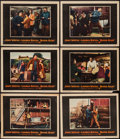 "Movie Posters:Action, Blood Alley (Warner Brothers, 1955). Lobby Cards (6) (11"" X 14"").Action.. ... (Total: 6 Items)"