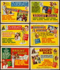 """Movie Posters:Black Films, Bright Road (MGM, 1953). Title Lobby Card and Lobby Cards (5) (11""""X 14""""). Black Films.. ... (Total: 6 Items)"""