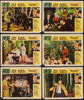 "Movie Posters:Mystery, Charade (Universal, 1963). Lobby Cards (6) (11"" X 14""). Mystery..... (Total: 6 Items)"