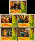 "Movie Posters:Crime, Dick Tracy vs. Cueball (RKO, 1946). Lobby Cards (5) (11"" X 14"").Crime.. ... (Total: 5 Items)"