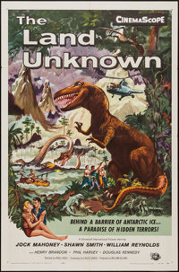 """The Land Unknown (Universal International, 1957). One Sheet (27"""" X 41""""). Science Fiction"""