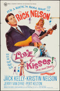 "Movie Posters:Rock and Roll, Love and Kisses (Universal, 1965). One Sheet (27"" X 41""), and LobbyCards (6) (11"" X 14""). Rock and Roll.. ... (Total: 7 Items)"