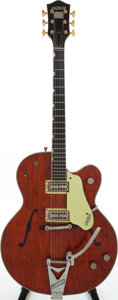 Musical Instruments:Electric Guitars, 1961 Gretsch Country Gentleman Brown Semi-Hollow Body ElectricGuitar, Serial # 41740....