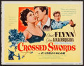 "Movie Posters:Adventure, Crossed Swords (United Artists, 1954). Trimmed Title Lobby Card(11"" X 14""). Adventure.. ..."