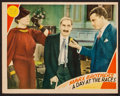 "Movie Posters:Comedy, A Day at the Races (MGM, 1937). Trimmed Lobby Card (10.75"" X13.75""). Comedy.. ..."