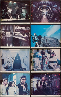"Star Wars (20th Century Fox, 1977). Lobby Card Set of 8 (11"" X 14""). Science Fiction. ... (Total: 8 Items)"