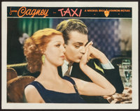"Taxi (Warner Brothers, 1932). Lobby Card (11"" X 14""). Crime"