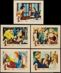"Movie Posters:Bad Girl, A Woman Like Satan (Lopert, 1959). Lobby Cards (5) (11"" X 14""). BadGirl.. ... (Total: 5 Items)"