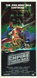 """Movie Posters:Science Fiction, The Empire Strikes Back (20th Century Fox, 1980). AustralianDaybills (2) (13"""" X 26.5"""" & 13.5"""" X 28"""") Advance and Regular.S... (Total: 2 Items)"""