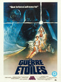 "Movie Posters:Science Fiction, Star Wars (20th Century Fox, 1977). French Canadian Poster (23.5"" X31.5""). From the collection of the late John L. Willia..."