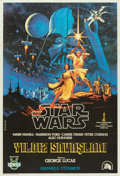"""Movie Posters:Science Fiction, Star Wars (20th Century Fox, 1978). Turkish One Sheet (27"""" X 39"""").From the collection of the late John L. Williams, noted..."""