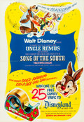 "Movie Posters:Animation, Song of the South (Buena Vista, R-1956). Contest One Sheet (27"" X 39"").. ..."