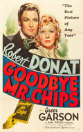 "Movie Posters:Drama, Goodbye, Mr. Chips (MGM, 1939). One Sheet (27"" X 41"") Style D.. ..."