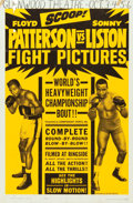 """Movie Posters:Sports, Patterson vs. Liston (Allied Artists, 1962). One Sheet (27"""" X 41"""").. ..."""