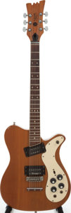 Musical Instruments:Electric Guitars, 1973 Mosrite 350 Stereo Natural Electric Guitar, Serial # A0227....