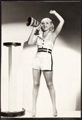 "Movie Posters:Miscellaneous, Betty Grable (Paramount, 1936). Pinup Photo (8.3"" X 12"").. ..."