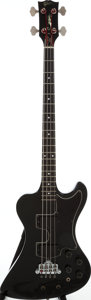 Musical Instruments:Bass Guitars, 1978 Gibson RD Artist Black Electric Bass Guitar, Serial # 72378070....