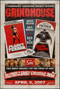 """Movie Posters:Action, Grindhouse (Dimension, 2007). One Sheet (27"""" X 40"""") DS Advance.Action.. ..."""