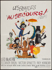 """Help! (United Artists, 1965). French Affiche (23.5"""" X 31.5""""). Rock and Roll"""