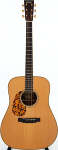 Musical Instruments:Acoustic Guitars, 1993 Collings Clarence White Natural Left-Handed Acoustic Guitar,Serial # 989. ...