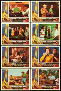 """Movie Posters:Science Fiction, The Brain from Planet Arous (Howco, 1957). Lobby Card Set of 8 (11""""X 14""""). From the collection of Wade Williams.. ... (Total: 8Items)"""