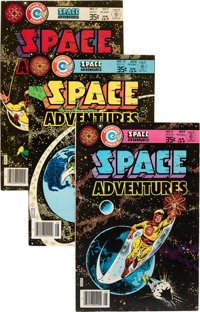 Charlton Bronze Age Space Related Group (Charlton, 1970s) Condition: Average VF-.... (Total: 16 Comic Books)