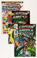 Bronze Age (1970-1979):Superhero, Captain America Group (Marvel, 1971-76) Condition: Average VF.... (Total: 36 Comic Books)