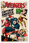 Silver Age (1956-1969):Superhero, The Avengers #4 (Marvel, 1964) Condition: VG....