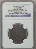 Colonials: , 1788 COPPER New Jersey Copper, Head Right -- Environmental Damage-- NGC Details. Fine. NGC Census: (0/9). PCGS Population ...