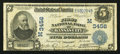 National Bank Notes:Missouri, Kansas City, MO - $5 1902 Date Back Fr. 590 The First NB Ch. #(M)3456. ...