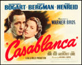 "Movie Posters:Academy Award Winners, Casablanca (Warner Brothers, 1942). Title Lobby Card (11"" X 14"").. ..."