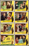 "Movie Posters:Film Noir, Green for Danger (Eagle Lion, 1947). Lobby Card Set of 8 (11"" X 14"").. ... (Total: 8 Items)"