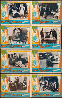 "Devil's Harvest (Continental, 1942). Lobby Card Set of 8 (11"" X 14""). ... (Total: 8 Items)"