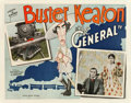 """Movie Posters:Comedy, The General (United Artists, 1927). Half Sheet (22"""" X 28"""").. ..."""