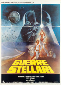 """Star Wars (20th Century Fox, 1978). Italian 4 - Foglio (55"""" X 78""""). From the collection of the late John L. Wi..."""