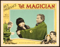 "Movie Posters:Fantasy, The Magician (MGM, 1926). Lobby Card (11"" X 14"").. ..."