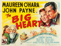 "Movie Posters:Comedy, Miracle on 34th Street (20th Century Fox, 1947). British Quad (30"" X 40""). Also known as The Big Heart.. ..."