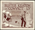 "Movie Posters:Comedy, Convict 13 (Metro, 1920). Title Lobby Card (11"" X 13"").. ..."