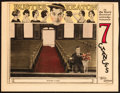 "Movie Posters:Comedy, Seven Chances (Metro Goldwyn, 1925). Lobby Card (11"" X 14"").. ..."