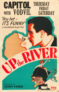 """Movie Posters:Comedy, Up the River (Fox, 1930). Window Card (14"""" X 22"""").. ..."""
