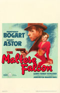 "Movie Posters:Film Noir, The Maltese Falcon (Warner Brothers, 1941). Window Card (14"" X22"").. ..."