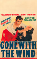 "Movie Posters:Academy Award Winners, Gone with the Wind (MGM, 1939). Window Card (14"" X 22"").. ..."
