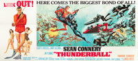 "Thunderball (United Artists, 1965). 24 Sheet (103"" X 228"")"