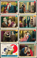 """Movie Posters:Comedy, Divorce Made Easy (Paramount, 1929). Lobby Card Set of 8 (11"""" X14"""").. ... (Total: 8 Items)"""