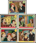 """Movie Posters:Comedy, The Saturday Night Kid (Paramount, 1929). Lobby Cards (5) (11"""" X14"""").. ... (Total: 5 Items)"""