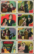 "Movie Posters:Drama, River of Romance (Paramount, 1929). Lobby Card Set of 8 (11"" X 14"").. ... (Total: 8 Items)"