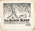 "Movie Posters:Horror, The Black Sleep (United Artists, 1956). Concept Art (20.5"" X 23"")....."